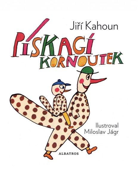 Pískací kornoutek - Jiří Kahoun, Miloslav Jágr - 16x20