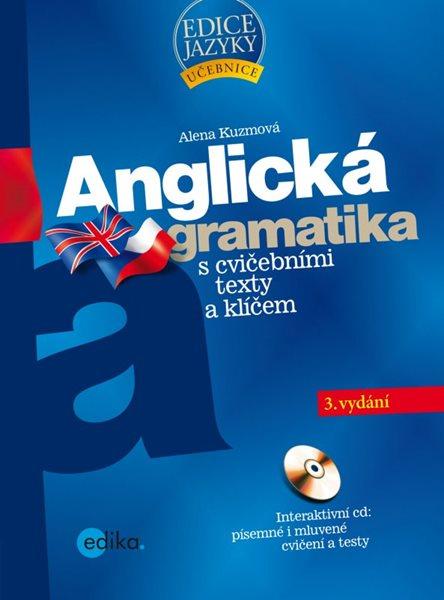 Anglická gramatika + CD - Alena Kuzmová - 17x23