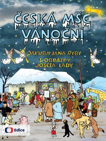 Česká mše vánoční - Jakub Jan Ryba, Josef Lada - 20x25