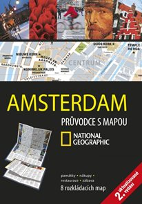 Amsterdam - průvodce s mapou National Geographic