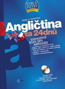 Angličtina za 24 dnů - Intenzivní kurz pro samouky + CD