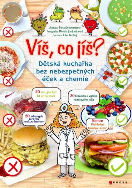 Víš, co jíš? - Pavla Šmikmátorová, Libor Drobný - 21x30