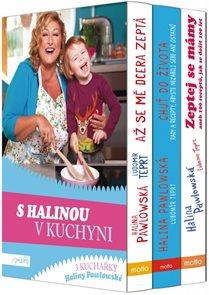 S Halinou v kuchyni - dárkový box 3 knih