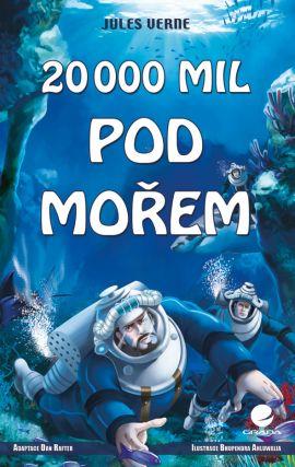 20 000 mil pod mořem /komiks/ - Verne Jules - 153x240 mm, brožovaná