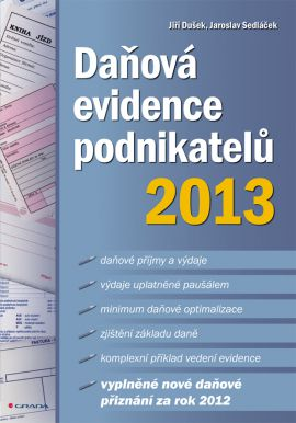 Daňová evidence podnikatelů 2013 - Daňová evidence podnikatelů 2013 - 17x24