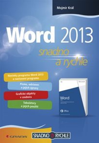 Word 2013 snadno a rychle