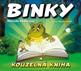 Binky a kouzelná kniha / Binky and the Book of Spells - Klofáčová Marcela - 21x21