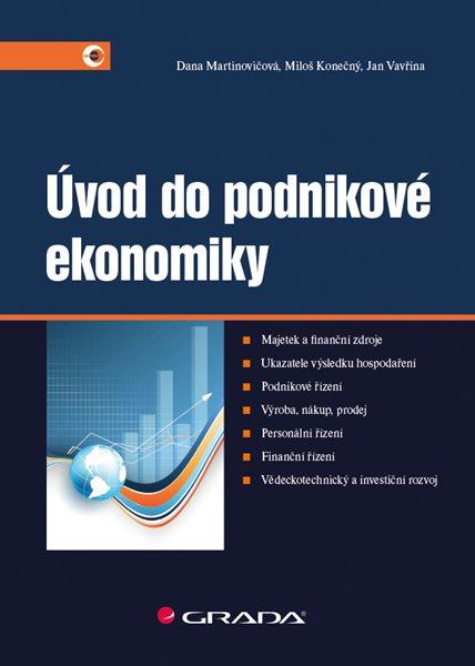 Úvod do podnikové ekonomiky - Martinovičová Dana - 17x24