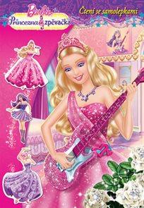 Barbie Princezna a zpěvačka Čtení se samolepkami