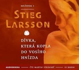CD Dívka, která kopla do vosího hnízda - Larsson Stieg - 13x14