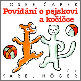 CD Povídání o pejskovi a kočičce - Čapek Josef - 13x14