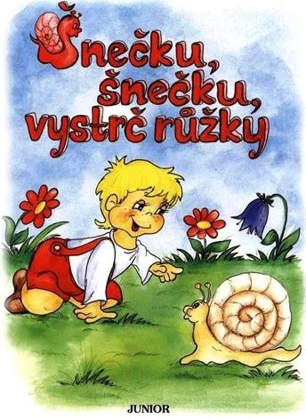 Šnečku, šnečku, vystrč růžky - Vopičková Vladimíra - 17x23, Sleva 47%