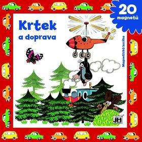 Magnetická knížka Krtek a doprava