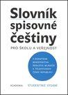Slovník spisovné češtiny Studentské vydání