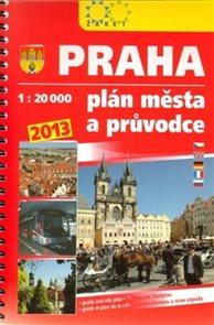 Praha plán města a průvodce 2013