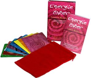 Energie Čaker - 8 karet, váček a kniha