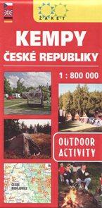 Kempy České republiky 1: 800 tis.