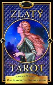 Zlatý tarot kniha a 78 karet