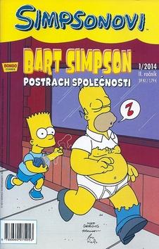 Bart Simpson Postrach společnosti - 17x26