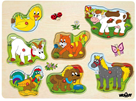 Muzikální puzzle - Domácí zvířata