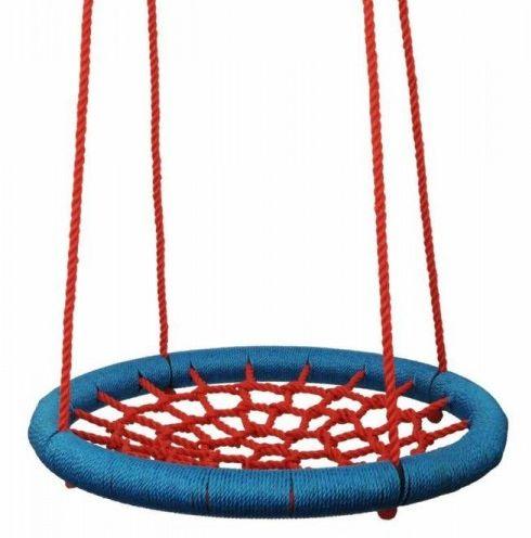 Houpací kruh - červený, průměr 85 cm, nosnost 100kg - průměr 85 cm, Doprava zdarma