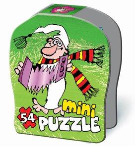 Puzzle Mini 54 dílků v krabičce - Křemílek a Vochomůrka