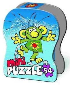 Puzzle Mini 54 dílků v krabičce - Rákosníček