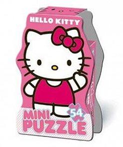 Puzzle Mini 54 dílků v krabičce - Hello Kitty I.