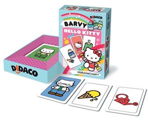 DIDACO - Barvy - Hello Kitty