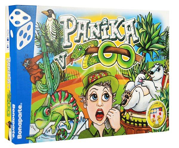 Panika v ZOO - společenská hra