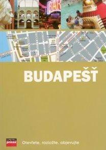 Budapešť - mapový průvodce