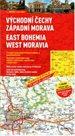 Česká republika -2- východní Čechy, západní Morava - mapa Marco Polo - 1:200 000