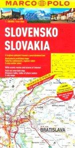 Slovenská republika - mapa Marco Polo - 1:200 000