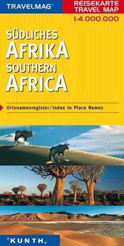 Afrika - jižní - mapa Kunth - 1:4mil.
