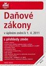 Daňové zákony k 1.4.2011