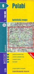 Polabí - mapa KP č.9 - 1:100t