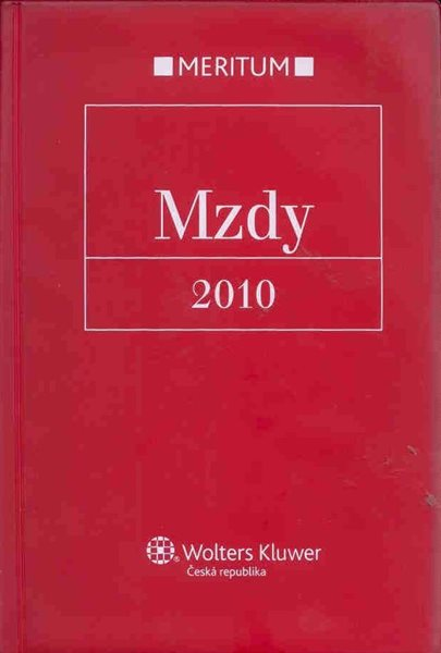 Meritum - Mzdy 2010 - 17x24 cm