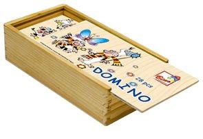 Domino - Křemílek + Vochomůrka, 28 ks