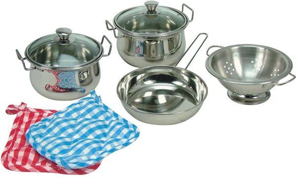 Sada nerezového nádobí, 8 ks