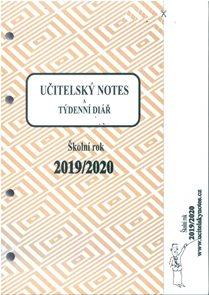 Učitelský notes - vložka Karis 2019/20 - mix barev