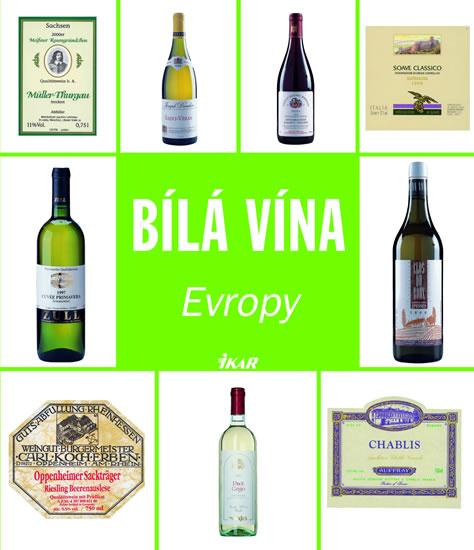 Bílá vína Evropy - neuveden - 15x17,5