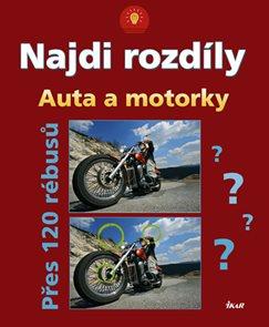 Najdi rozdíly: Auta a motorky - Přes 120 rébusů