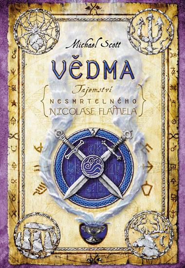 Vědma - Tajemství nesmrtelného Nicolase Flamela - 2. vydání - Scott Michael - 16x22