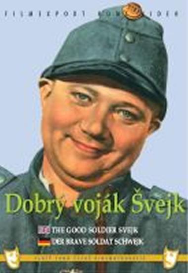 Dobrý voják Švejk - DVD box - Steklý Karel - 13x19