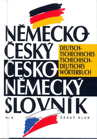 Německo-český/česko-německý slovník - neuveden - 8,3x12