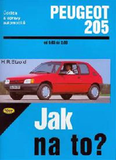 Peugeot 205 - 9/83 - 2/99 - Jak na to? - 6. - Etzold Hans-Rudiger Dr. - 20,5x28,7