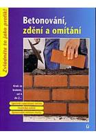 Betonování, zdění a omítání - neuveden - 17x22,5