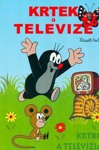 Krtek a televize - omalovánky A4