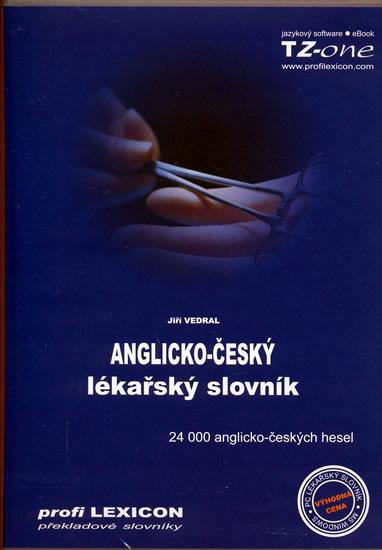 Anglicko-český lékařský slovník - CD-ROM - neuveden - 13,5x19