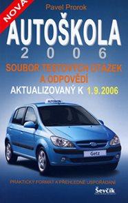 Autoškola 2006 - soubor testových otázek a odpovědí aktualizovaný k 1.9.2006
